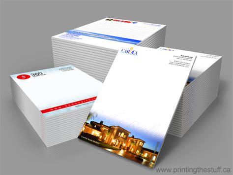bulk notepad printing toronto