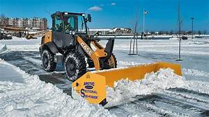 Sectional Snow Pusher Attachment