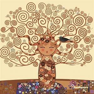 Kokeshi El árbol de la vida por Pendientera Señor Cool