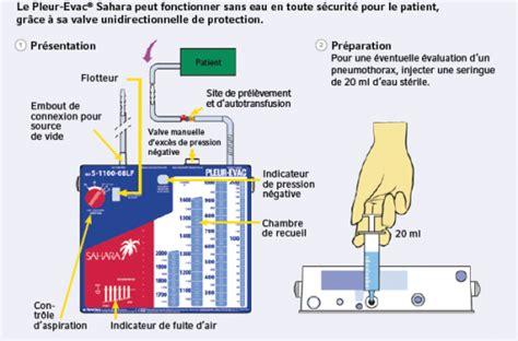 colonne chambre soins et surveillance systèmes de drainages thoraciques à