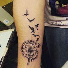 Pusteblume Schwarz Weiß Vögel : ideen f r tattoovorlagen f r unterarm l wenzahn samen als v gel haut ~ Orissabook.com Haus und Dekorationen