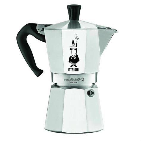 Before releasing italian stovetop coffee maker, we have done researches, studied market research and reviewed customer feedback so the information we provide is the latest at that moment. BIALETTI Italian Espresso Stove Top Coffee Maker MOKA