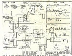 Gas Furnace Control Board Diagram