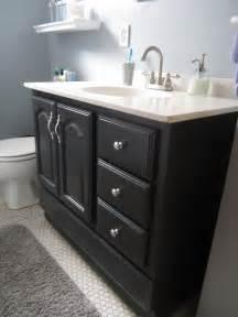 Bathroom Vanity Paint Ideas Bathroom Vanity Makeover With Chalk Paint Decor Adventures