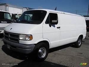 Stone White 1996 Dodge Ram Van 2500 Commercial Exterior