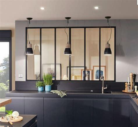 cuisine bois rustique votre cuisine loft verriere atelier d artiste avec votre