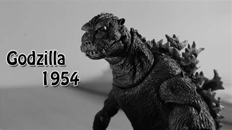 Godzilla 1954 Neca (mini Stop Motion)