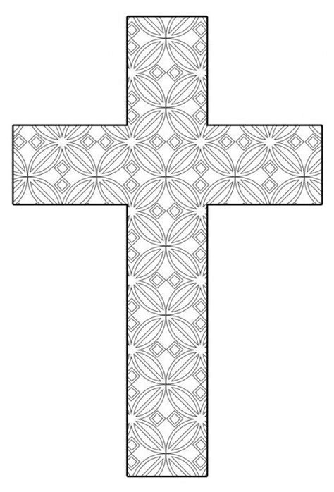 Free Printable Cross Coloring Pages | color | Cross