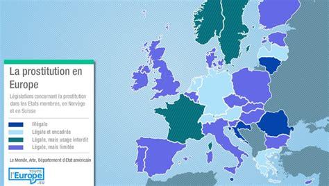 Prostitution Carte 2018 by Toute L Europe La Prostitution En Europe