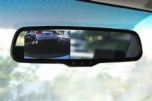 Oem Replacement Rear View Mirror With 4 3 U0026quot  Lcd Display For