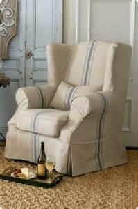 slipcover wingback chair myideasbedroom com