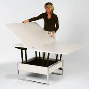 Table De Salon Transformable : table basse transformable iliade ~ Teatrodelosmanantiales.com Idées de Décoration