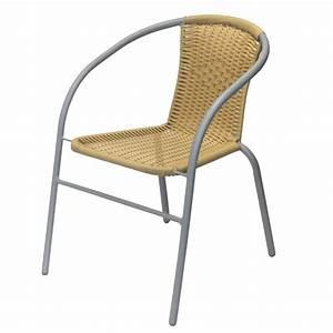 Gartenstühle Polyrattan Grau : bistrostuhl stapelstuhl polyrattan grau beige garten ~ Lateststills.com Haus und Dekorationen