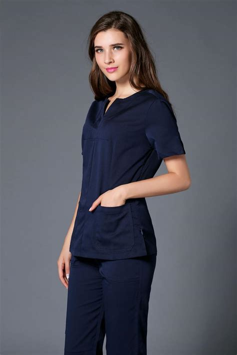Browse our high quality beauty uniforms, spa uniforms & salon wear online at florence roby. 2017 Summer women hospital medical scrub clothes set ...