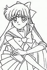 Coloring Moon Sailor Printable Popular sketch template