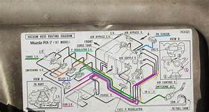 Vacuum Hose Diagram For 1987 Mazda Rx-7 Turbo Ii  - Rx7club Com