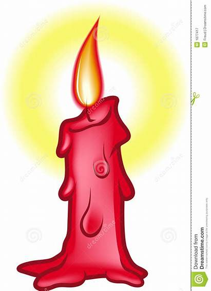 Candle Wax Clipart Candles Birthday Single Illustration