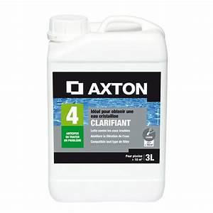 Produit Pour Piscine : clarifiant piscine axton liquide 3 l 3 kg leroy merlin ~ Edinachiropracticcenter.com Idées de Décoration