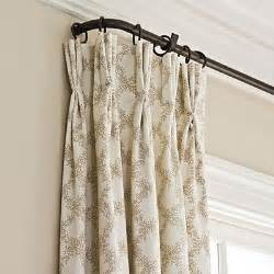 Double Curtain Rod Target by Wrap Around Curtain Rod Curtains French Doors