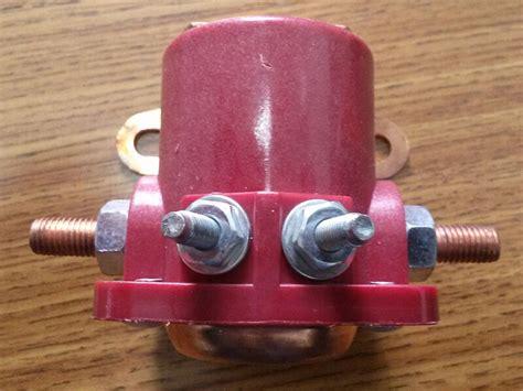wire  ford starter solenoid ebay