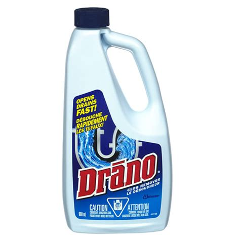 Drano To Clean Bathtub by Drain Cleaner Rona