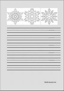 Free Printable Address Book Template Snowflakes Primary Writing Paper I Abcteach Com Abcteach