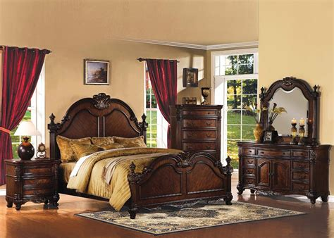Traditional Bedroom Furniture Sets-chula Vista-san