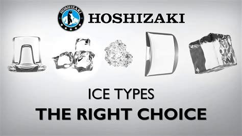 hoshizaki ice types making   choice youtube