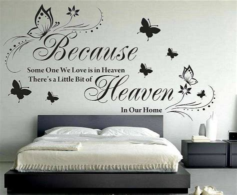 Quotes For Bedroom Wall by Wall Sticker Quotes Bedroom All In One Wall Ideas 34235