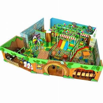 Indoor Playhouse Playground Jungle Amusement Pit Themed