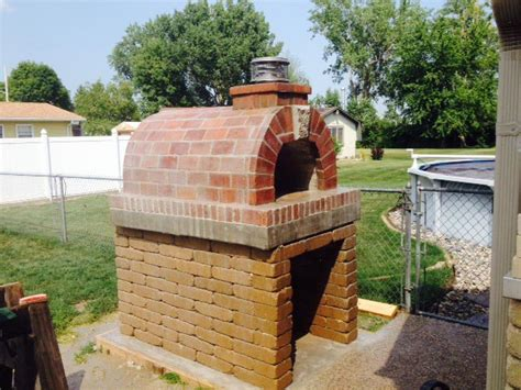 outdoor brick fireplace plans brickwood ovens martens wood fired outdoor pizza oven in