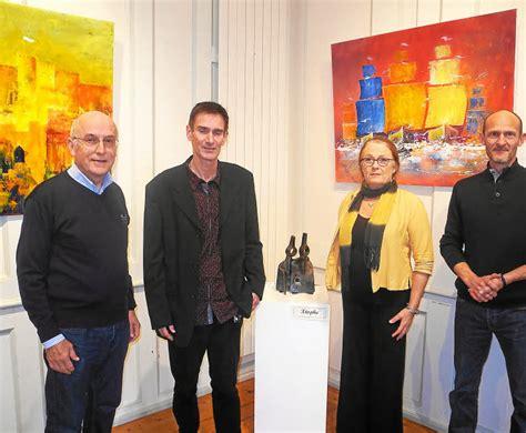 exposition trio d artistes 224 la maison pr 233 bendale pol de l 233 on letelegramme fr