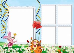 Winnie the Pooh: Free Printable Photo Frames. | Oh My ...