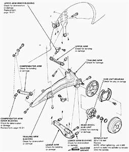 Honda Crx Suspension Diagram