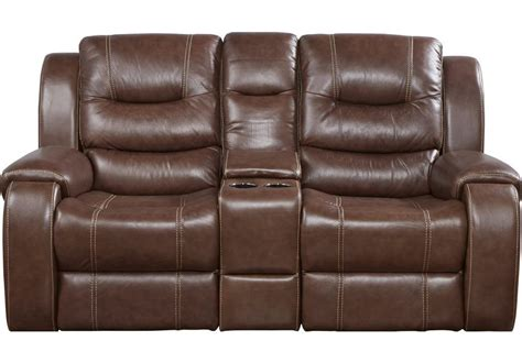 Rooms To Go Loveseat by Sofa Reclinable En Piel Veneto Color Brown Rooms To Go