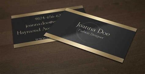 Elegant Black And Gold Business Card Template For Fashion Ns Business Card Iemand Meenemen Dal Vrij Qliner Cutting Machine Price Correctie Visiting Scanner Citibank Credit Malaysia Printing Youtube