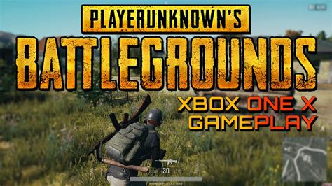 pubg on xbox one x playerunknowns battlegrounds