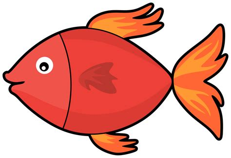 Fish Clipart - fish beak seafood vector clipart free to modify
