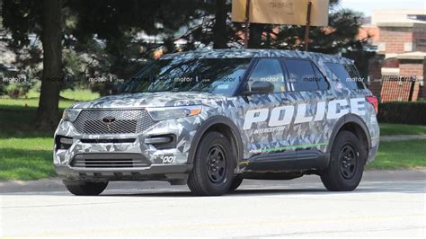 ford explorer police interceptor spy  motor