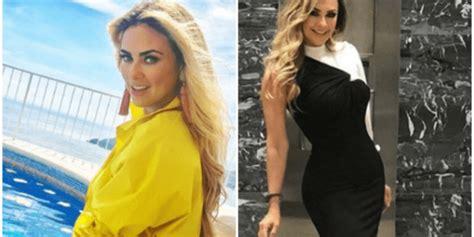 Aracely Arámbula se dejó ver sin brasier en redes sociales ...