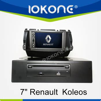 factory 7 quot hd touch screen renault koleos din car dvd with tmc mic dvb t buy