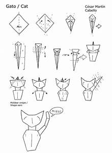1000  Ideas About Origami Cat On Pinterest