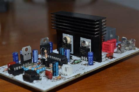 build  class  power amp