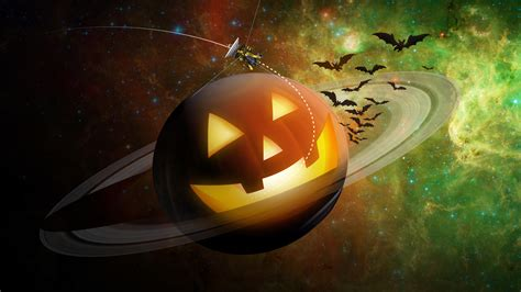 spooky saturn nasa solar system exploration