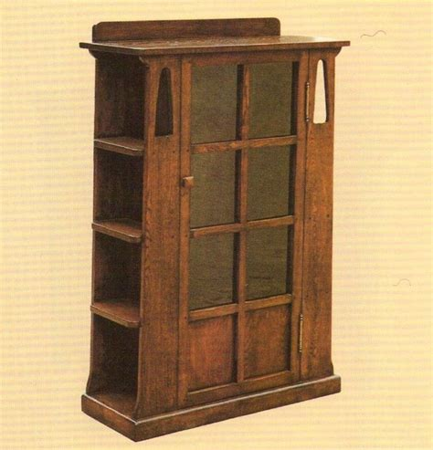 Arts And Crafts Bookcase by Mission Oak Bookcase With Sideshelves Arts And Crafts