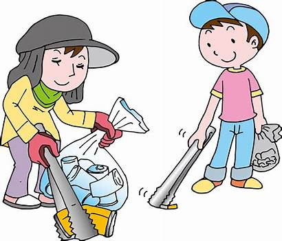 Trash Clipart Pick Rubbish Children