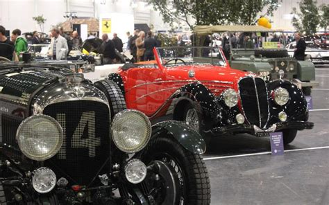 Inaugural London Classic Car Show Opens To The Public