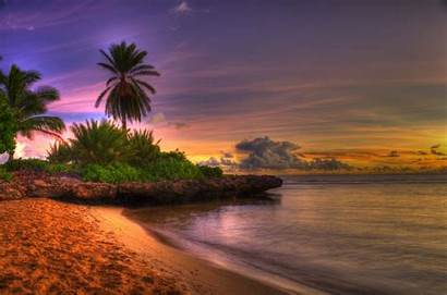 Sunset Beach Wallpapers Wallpapersafari Imagescicom Purple