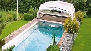 Garten Pool Mit Berdachung YouTube