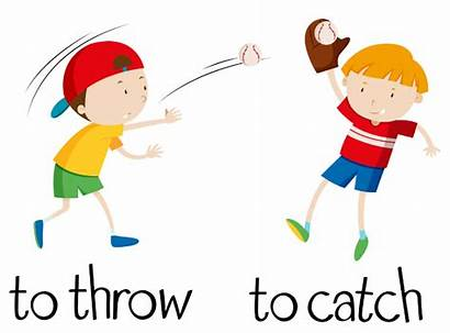 Catch Playing Throw Ball Cold Pluspng Collocations